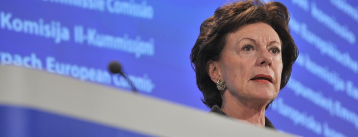 EU commissioner denies shelving proposals to cut the cost of data roaming and calls