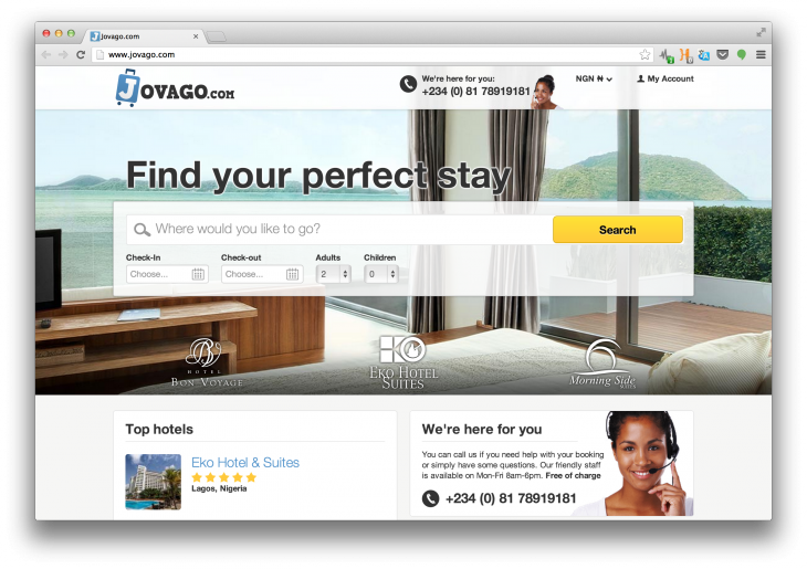 Screen Shot 2013 08 05 at 09.47.26 730x515 A Rocket Internet subsidiary has just launched a hotel booking site focused on travel in Africa