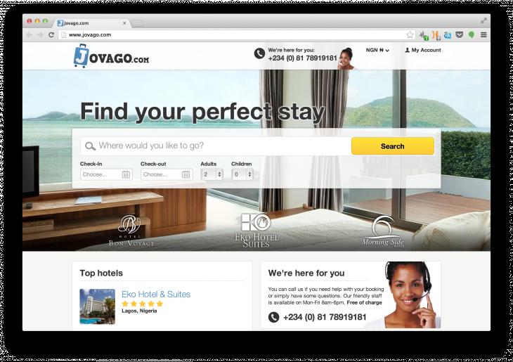 Jovago-Screenshot