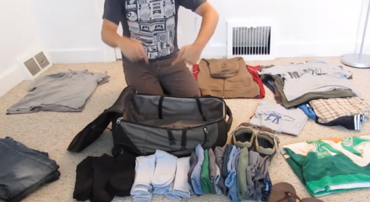 'Hacking Packing' or 'How To Pack Like An Engineer'
