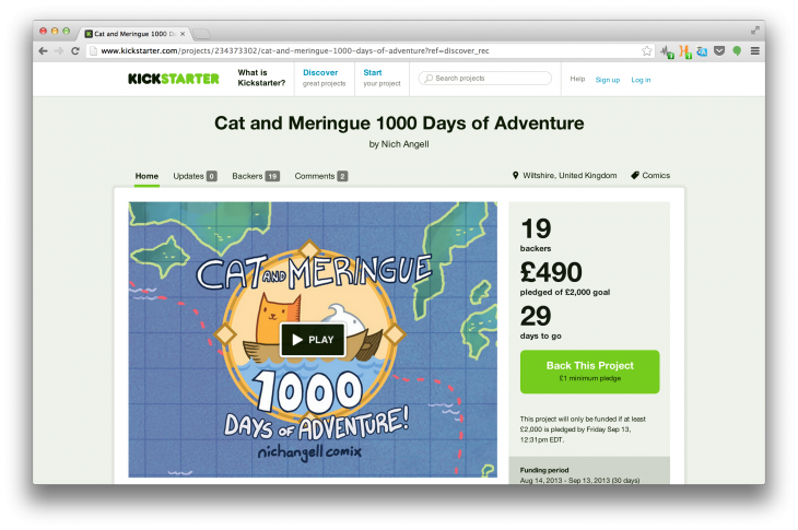 Screen Shot 2013 08 15 at 17.45.55 730x485 Planning a Kickstarter campaign? Read this first