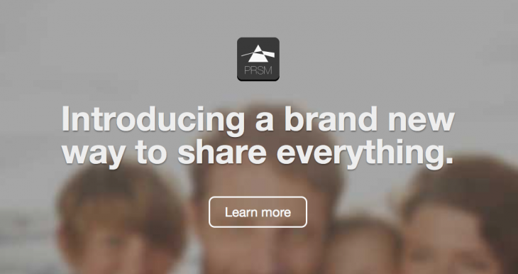 PRSM: The ultimate social network for sharing