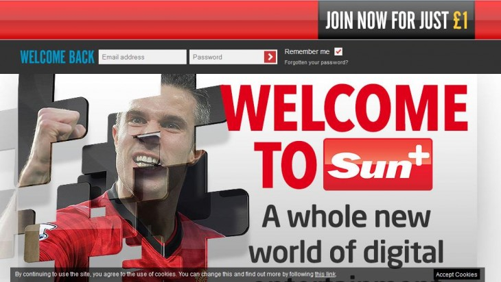 Screenshot 1 730x412 British tabloid the Sun is now behind a paywall