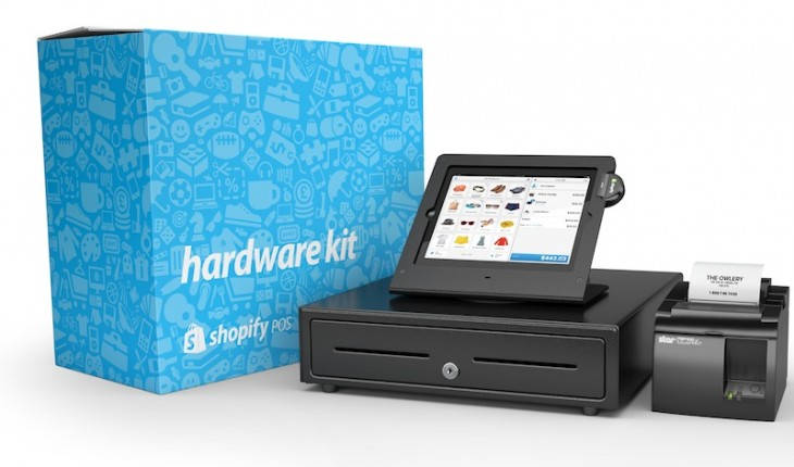 Shopify takes on Square with its own iPad based point of sale system for merchants