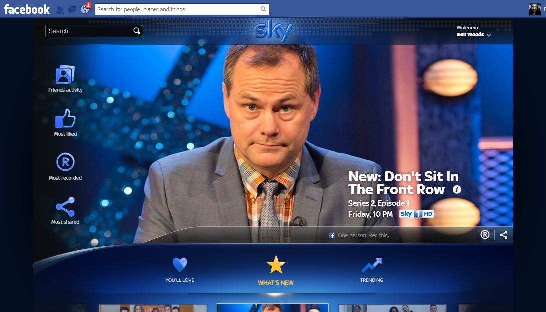SkyShare Sky Share lets you set your Sky+ box to record directly from Facebook: Heres how it works