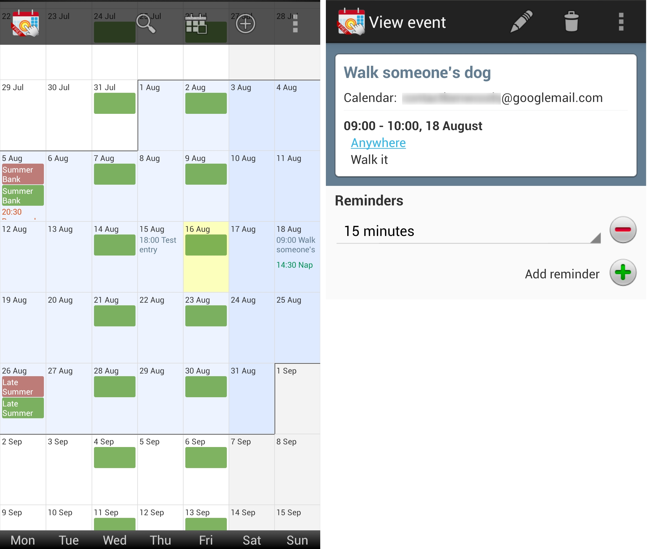 Weekly Calendar App : Of the best calendar apps available for your android