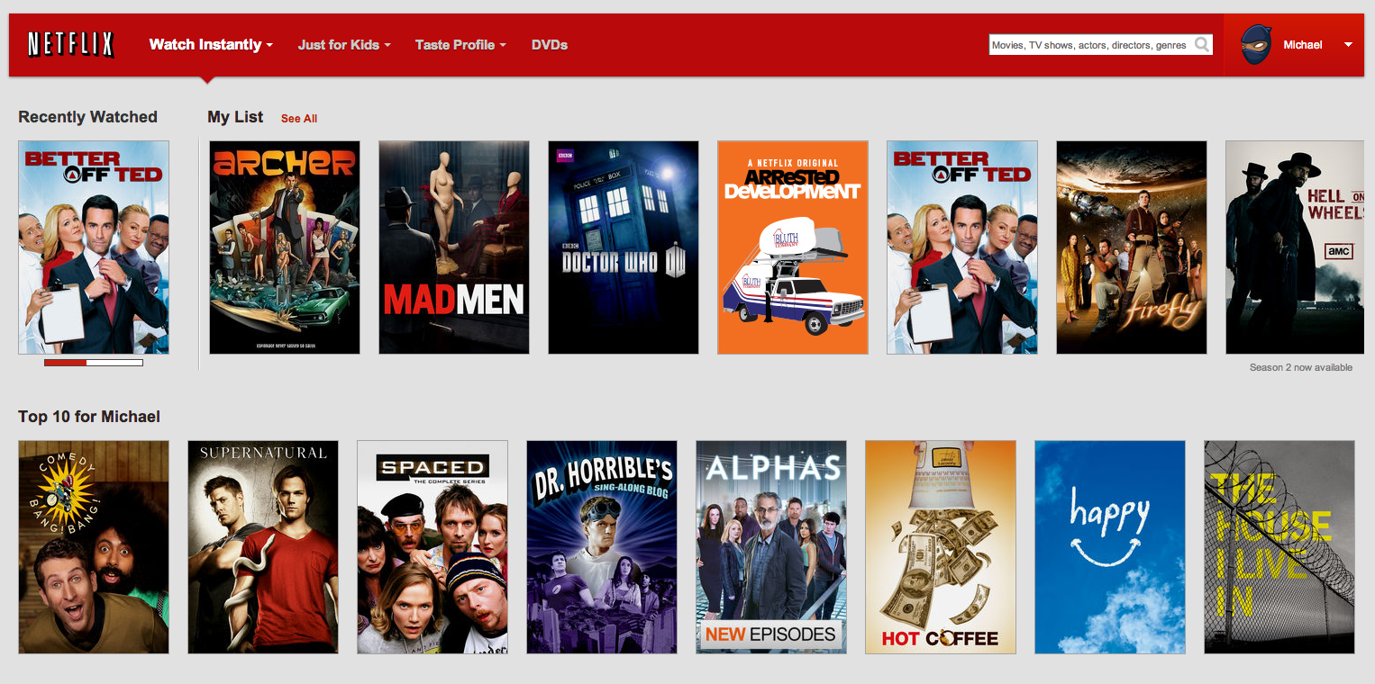 netflix launches 'my list' feature to help users quickly save and