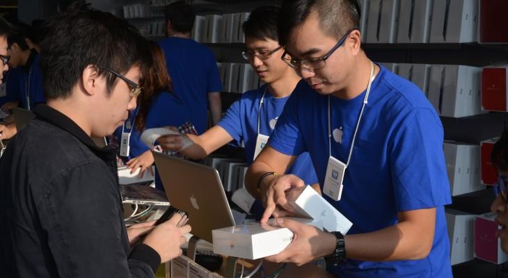 HONG KONG-US-IT-INTERNET-COMPANY-APPLE-IPAD