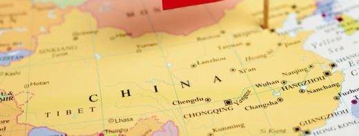 china map flag