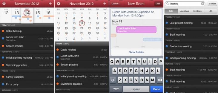Fantastical Apple calendar app