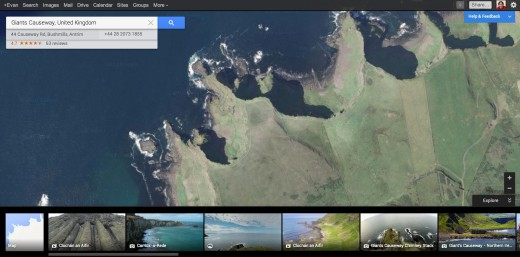 googlemaps photos 520x257 Google owned Panoramio gets a new design to showcase images from across the world