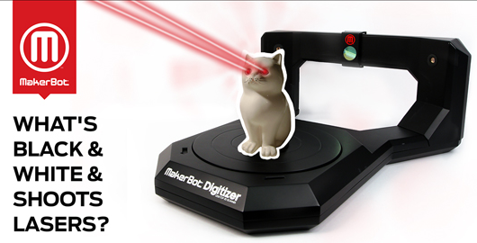makerbot digitizer Makerbots Digitizer 3D desktop scanner goes on sale next week