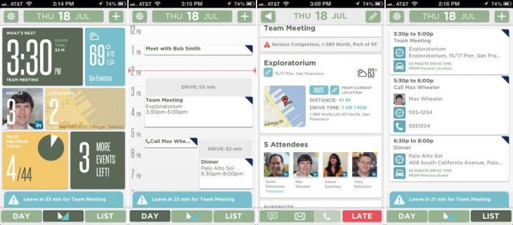 Mynd Apple calendar app