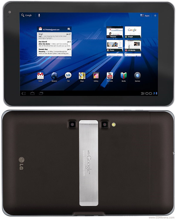 optimus tab Further leaks indicate LG will launch a 'G Pad' tablet, and is aiming to sell 100,000 per month