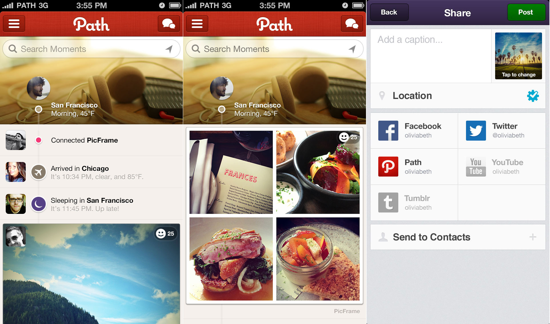 Path opens its API to let you share content from 13 new services