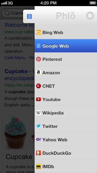 Phlo brings its quick multi site search app to the iPhone and iPad
