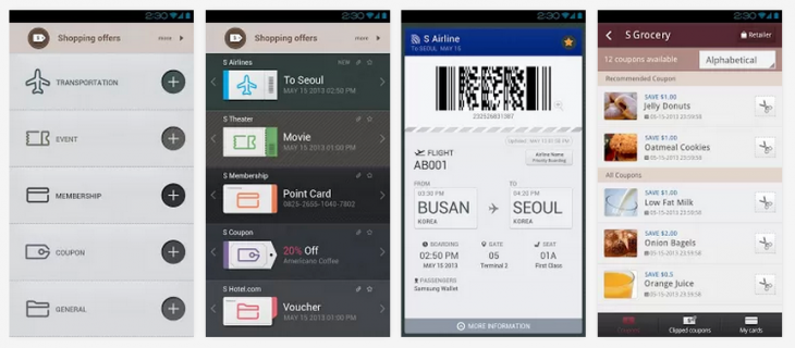 samsung wallet 730x320 Samsung Wallet set for international push after going live on Google Play
