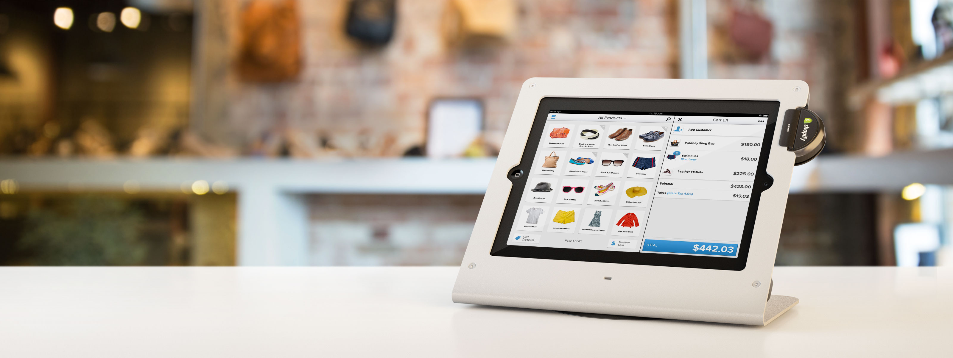 Shopify Takes On Square With Its Own Ipad Based Pos System