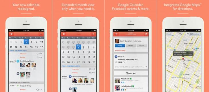 Sunrise Apple calendar app