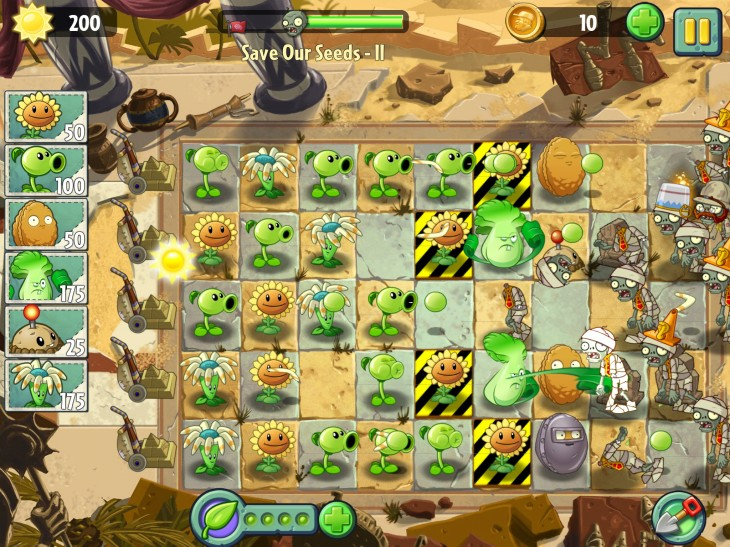 Plants vs. Zombies 2 racks up 16m downloads on iOS devices worldwide in its opening week