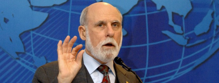 Tech pioneer Vint Cerf on the age of context and why you can't be a citizen of the Internet