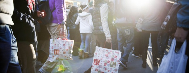 """Black Friday"" Marks Start Of Holiday Shopping Season"