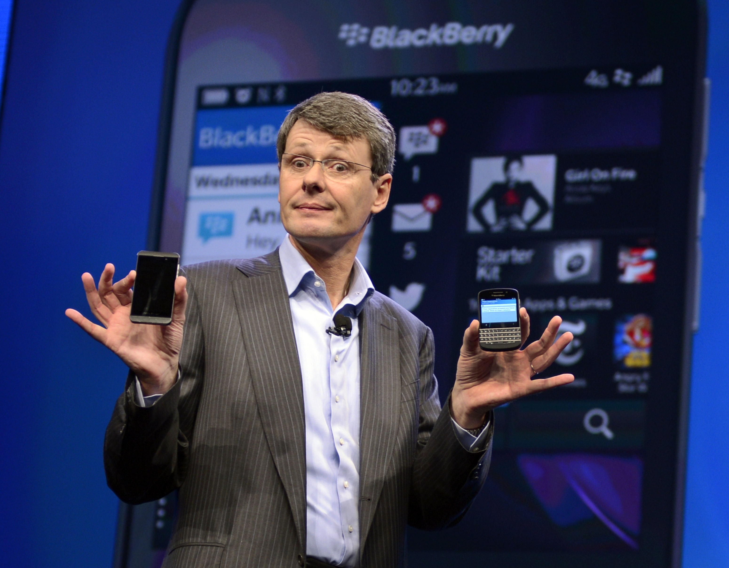 BlackBerry Suitors Reportedly Considering Breaking Up Company