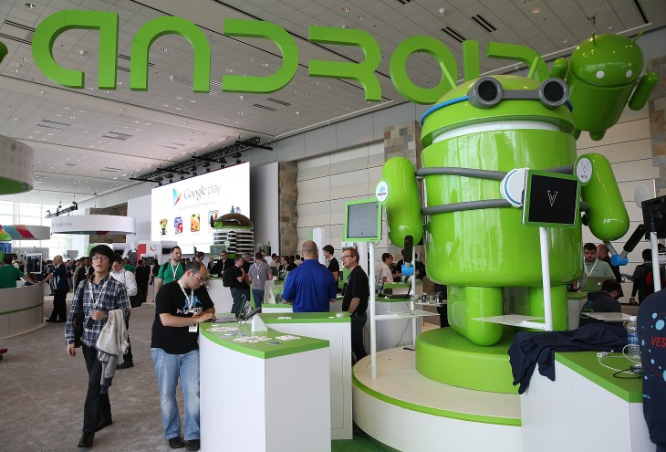 Android hits 1bn total activations, and the next version is called… Kit Kat