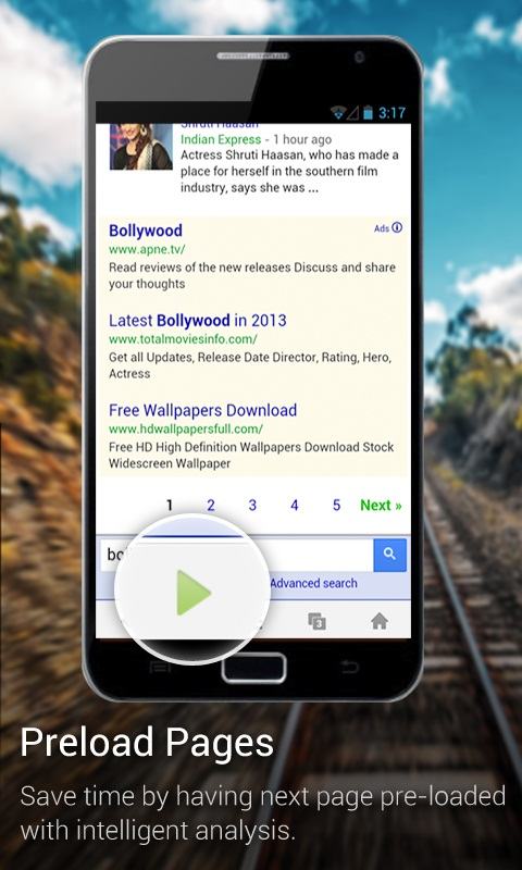UC Browser's tablet version now allows seamless switch