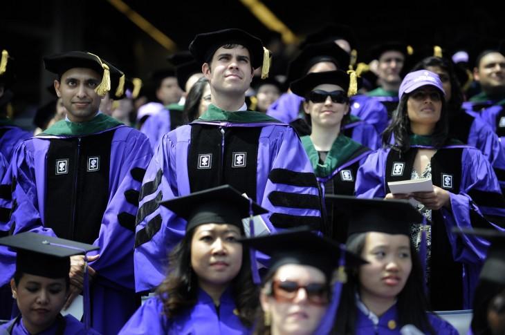 New York University (NYU) students atten