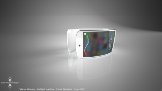 iwatch concept by ciccarese design - New Product 2014