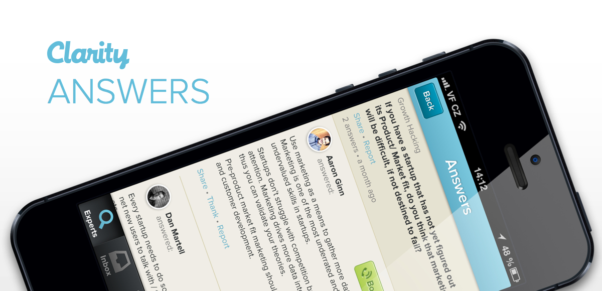 Clarity Unveils Quora-Like Answers Service For Fast Business Advice