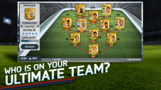 Soccer fans rejoice: FIFA 14 arrives on iOS and Android for free