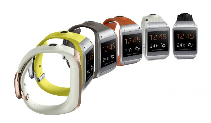 Galaxy Gear 008 Set1 Side Six1 730x428 Samsungs Galaxy Gear smartwatch is now compatible with Galaxy S4, S3, Note 2 and others