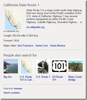 Highway 1 of 1 thumb 24E3C61E Microsoft introduces new contextual search features, refreshed layout and redesigned logo for Bing
