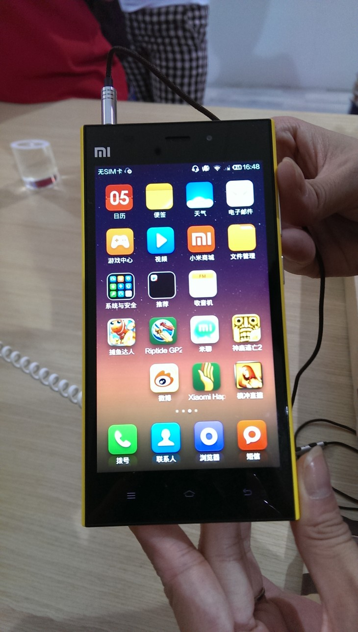 Hands On With The Xiaomi Mi 3 Android Smartphone
