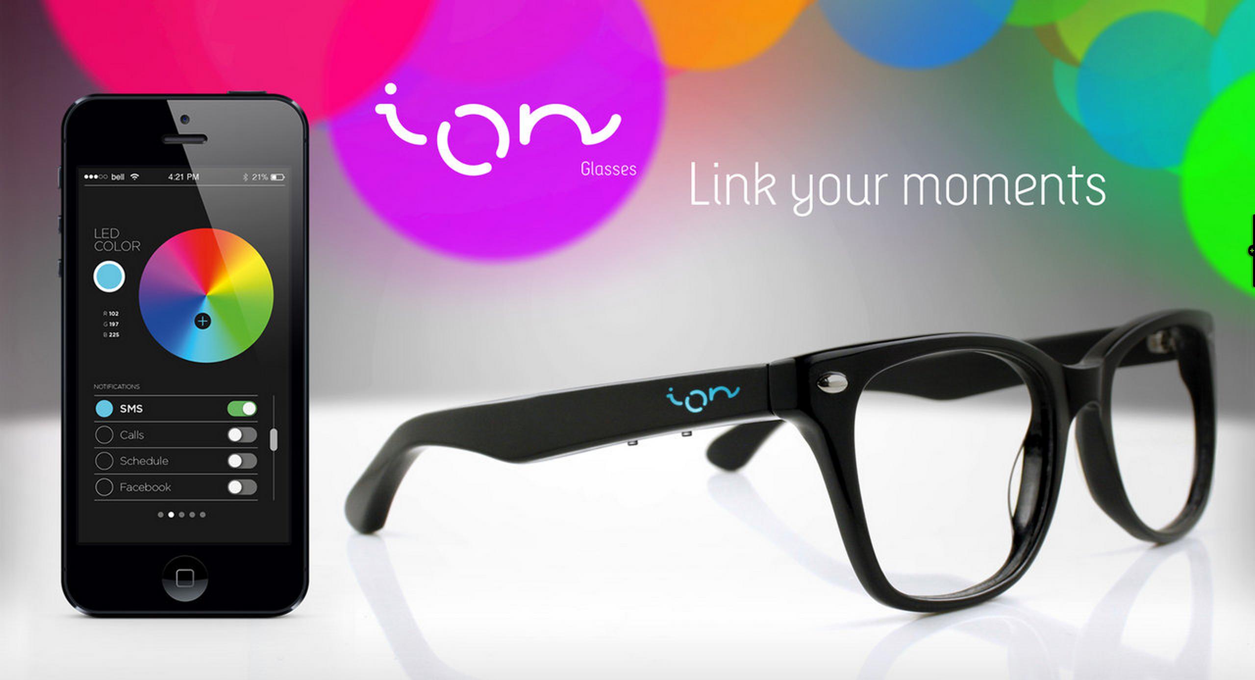 don t fancy a smartwatch ion 39 s sub 100 smartglasses. Black Bedroom Furniture Sets. Home Design Ideas
