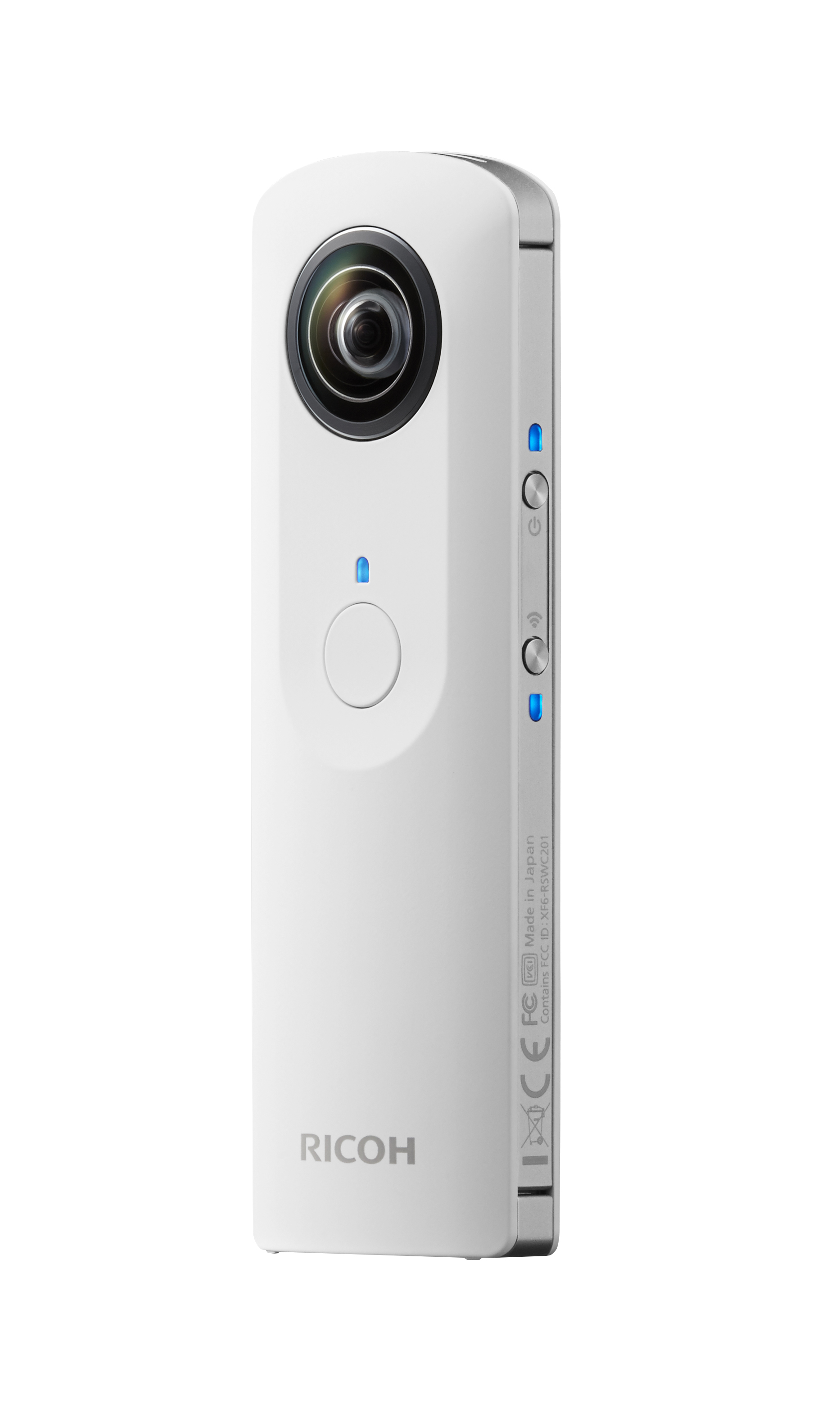 MAIN CUT THETA back right on Ricoh launches $399 Theta camera bringing fully spherical images in a single shot