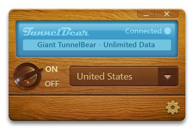 New TunnelBear design