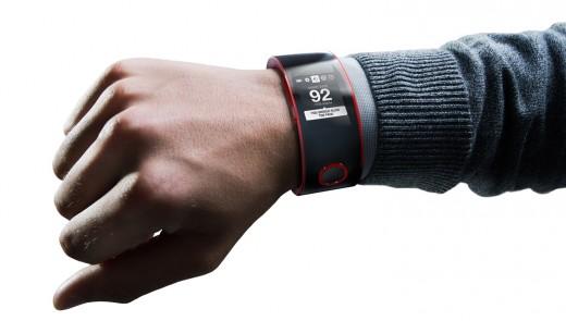 Nissan Nismo Watch on Wrist