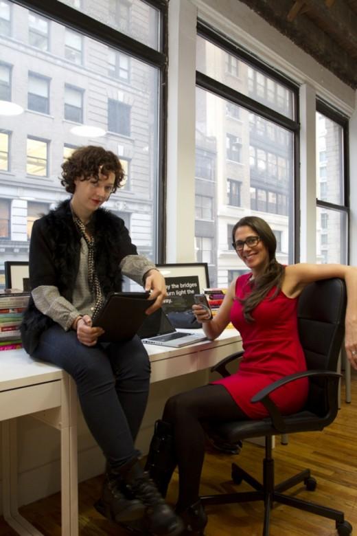 Rachel Sklar and Glynnis MacNicol