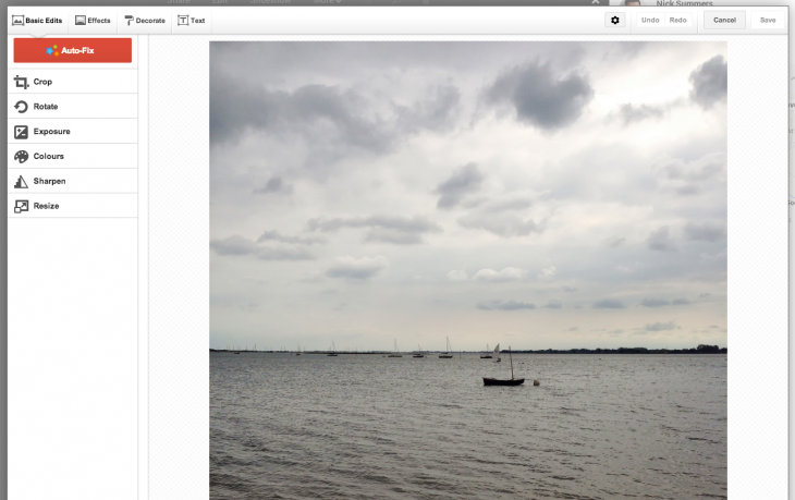 Google+ photo editing has been restored on the Web after disappearing for nearly a week