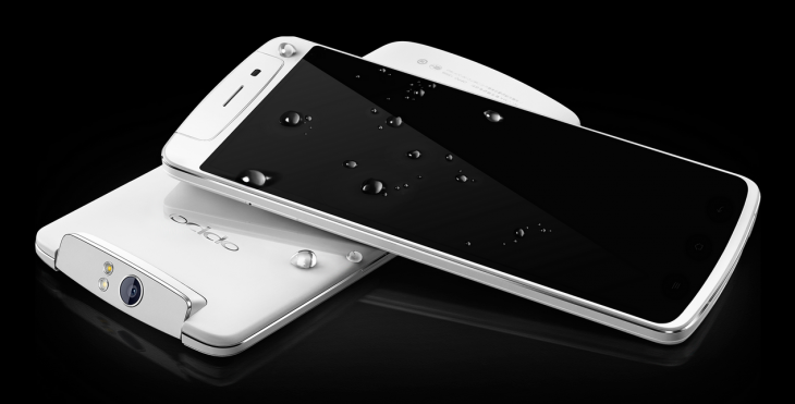 Oppo N1 smartphone: 5.9-inch 1080p display, 13MP rotating camera, rear touch controls and new Color OS ...