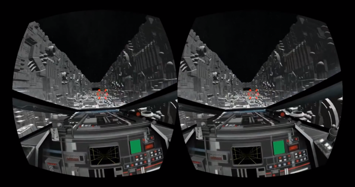 This Oculus Rift demo lets you relive the iconic Death Star trench run from Star Wars: A New Hope