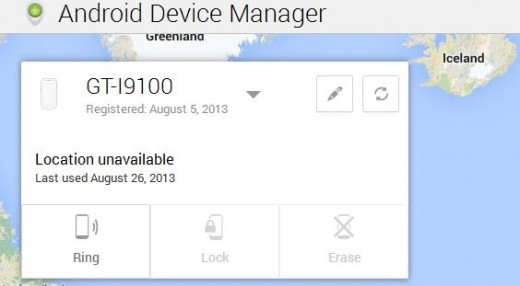 Android Device Manager Lets You Lock Handset Remotely