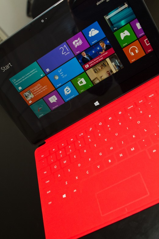 SurfaceRT Microsoft buying Nokia is as much about tablets as it is about smartphones