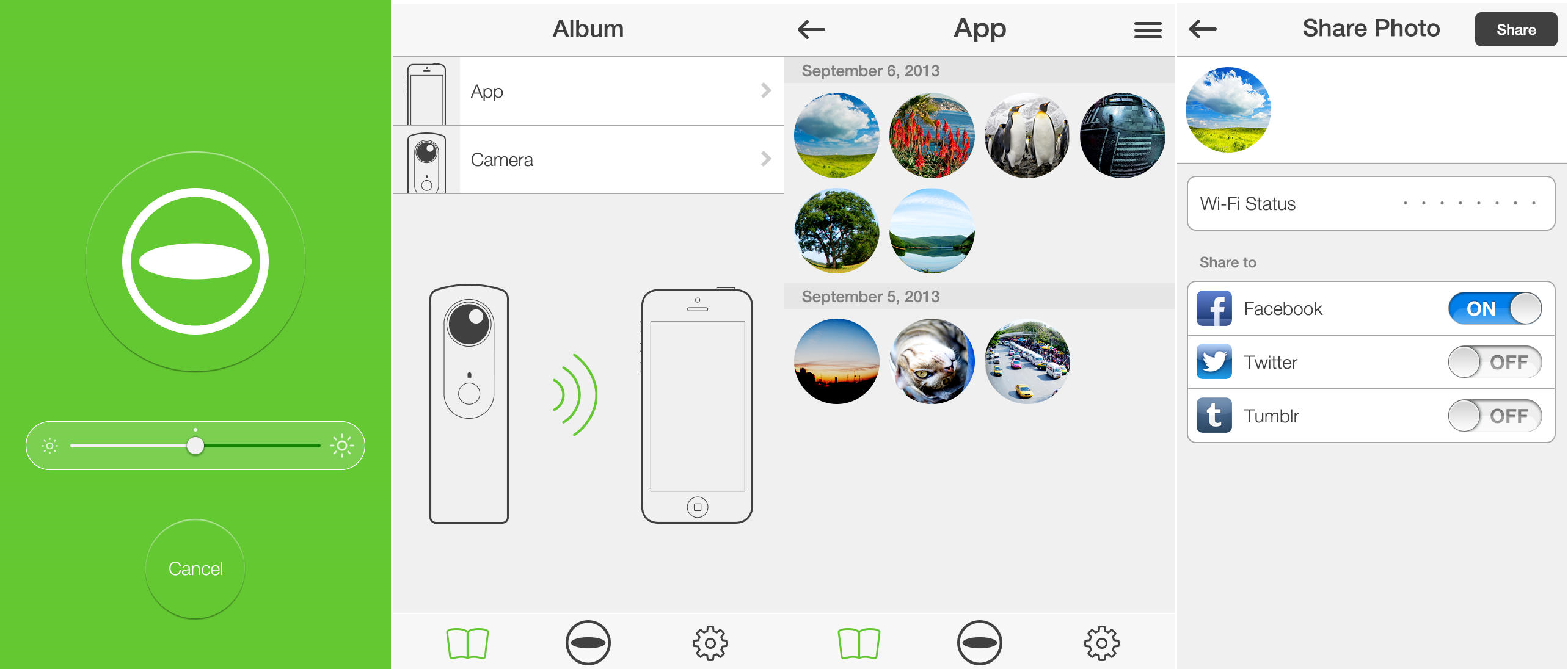 Theta iOS Ricoh launches $399 Theta camera bringing fully spherical images in a single shot
