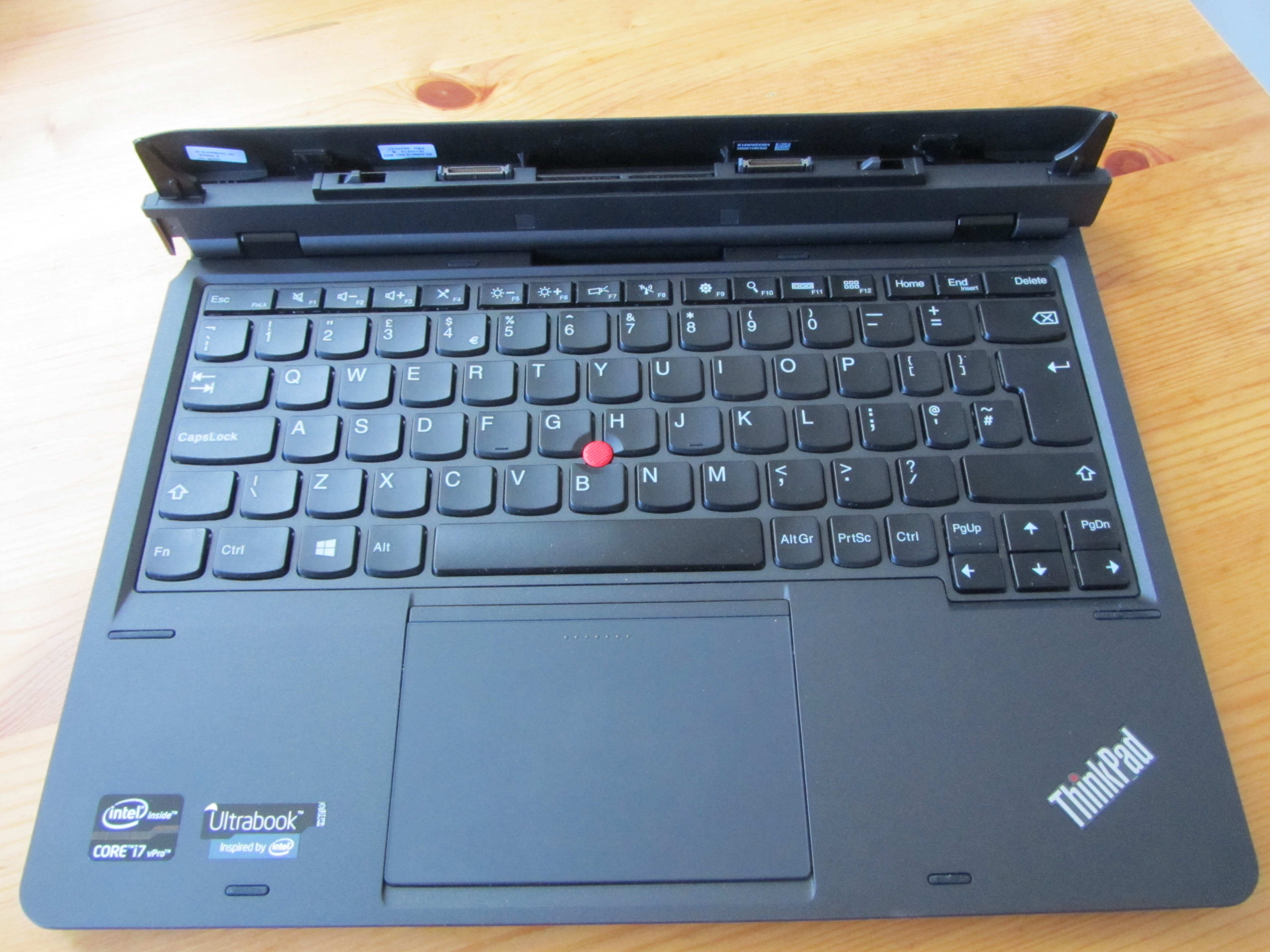 ThinkPad Helix Keyboard Lenovos ThinkPad Helix: Nice specs, but its price and weight show whats wrong with hybrid PCs
