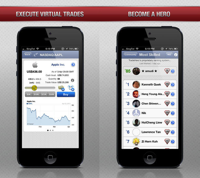 Stock Market Game TradeHero Stands Out By Offering Information