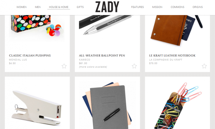 Zady 730x438 50 New York City startups you need to know about